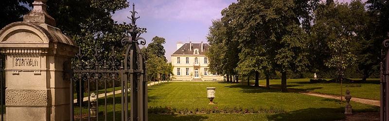 Bordeaux Chateaux Kirwan 800 x 250