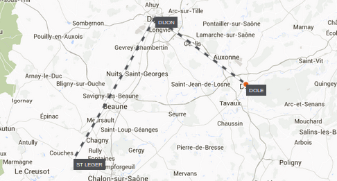 Map-St-Leger-To-Dole