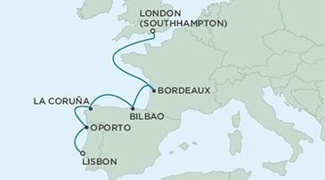 Regent Seven Seas Voyager Lisbon to Southampton 7 nights 365 x 203