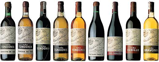Vina Tondonia Bottles