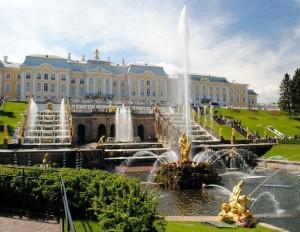 RSS St Petersburg Peterhof Palace