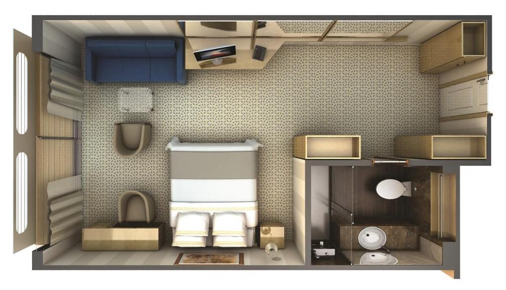 SIlversea Silver Discoverer Suite Veranda