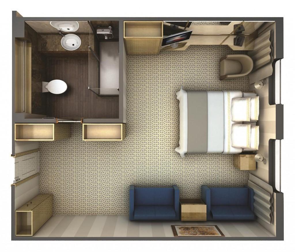 Silversea Silver Discoverer Suite Vista