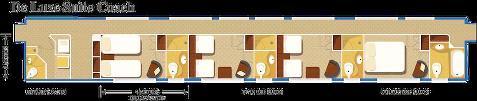 The Blue Train Deluxe Suite Coach