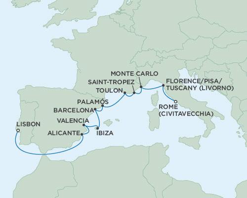 Explorer Rome to Lisbon