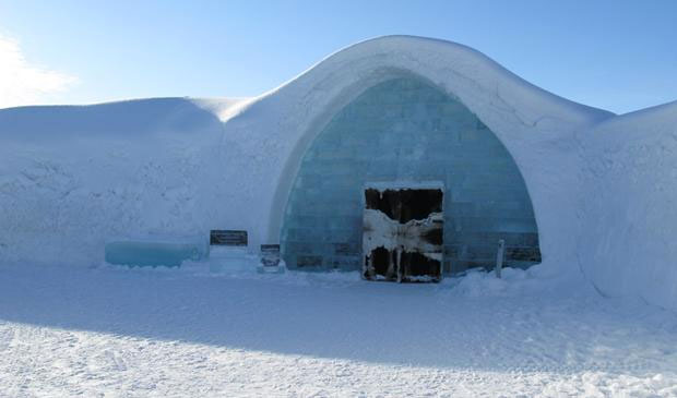 Outside-Icehotel