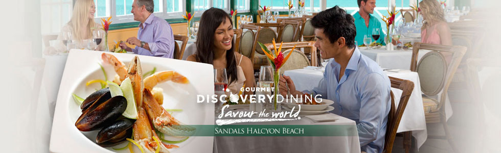 Sandals-Halcyon-beach-dining-Saint-Lucia