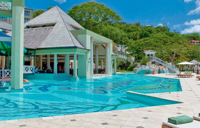 Sandals-Regency-La-Toc-Pool
