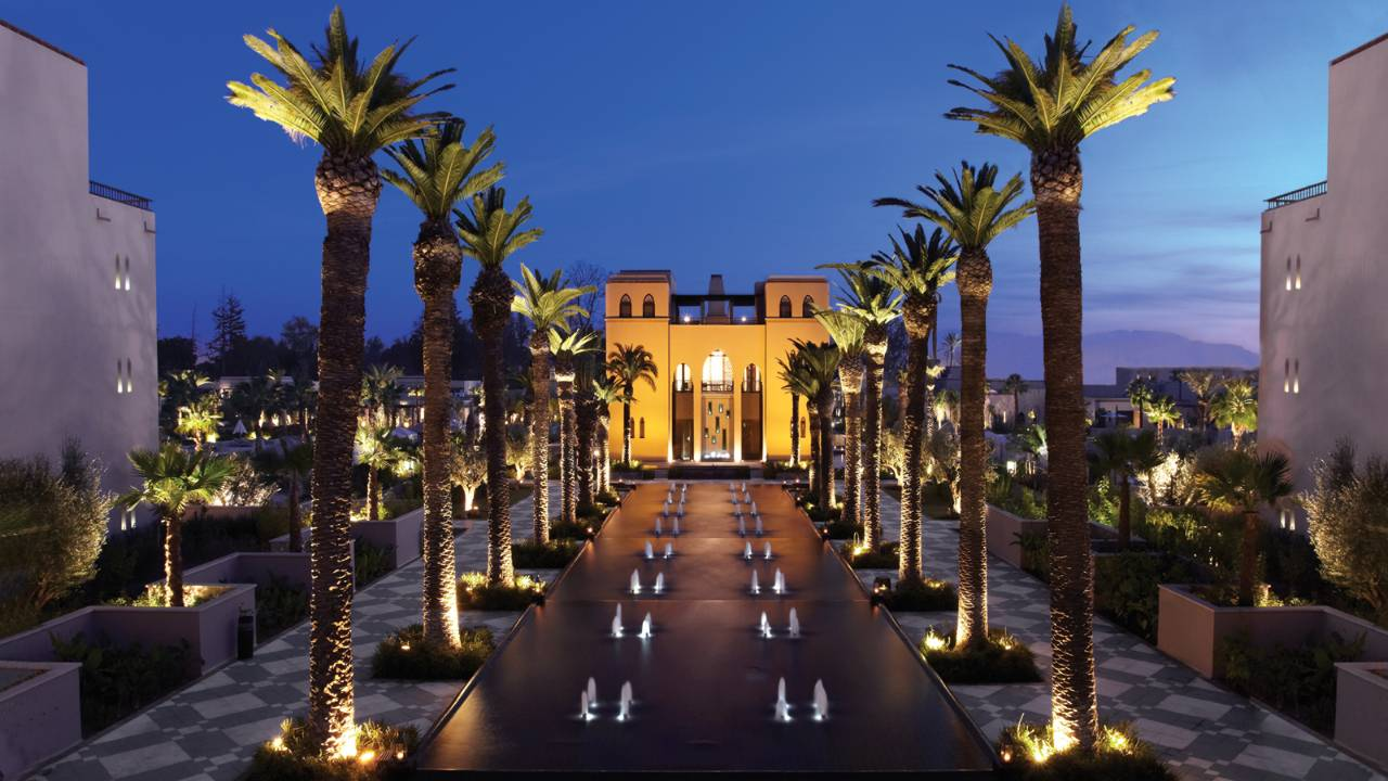 The-Four-Seasons-Hotel-exterior-Marrakech-Morocco