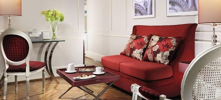 Brunelleschi Junior Suite Living 720 x 327