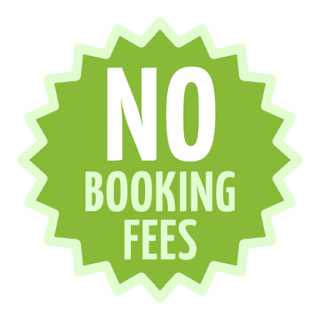 No booking fees cabin rental