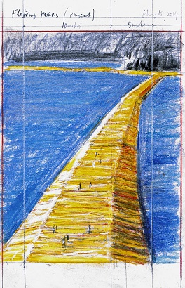Christo The Floating Piers 264x410