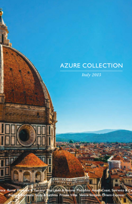 Azure Collection 2015 Italy Brochure