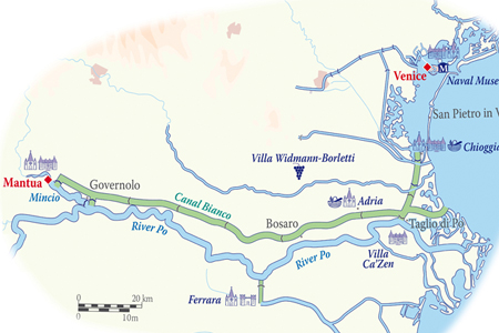Italian-River-Cruises-route